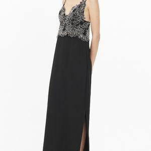 Sandro Paris Black Gown Size S